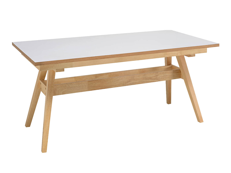 MESA FIJA MARTA ROBLE 150 x 90 cm