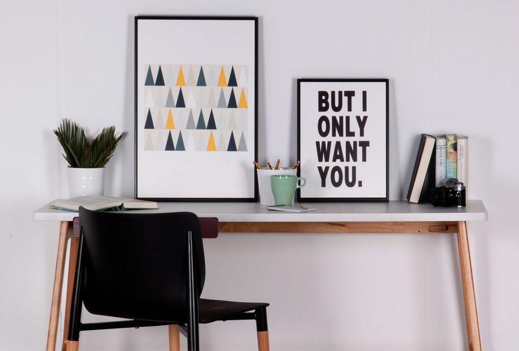 CUADRO TROY 40 x 60 cm
