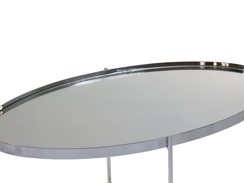 MESA CENTRO ANAI PLATA 80 x 45 cm