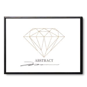 CUADRO DIAMOND 40 x 30 cm