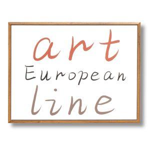 CUADRO ART LINE 40 x 30 cm
