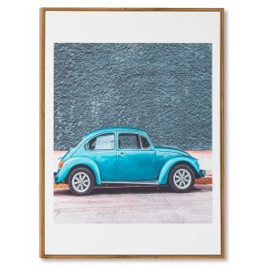CUADRO BLUE BEETLE 50 x 70 cm